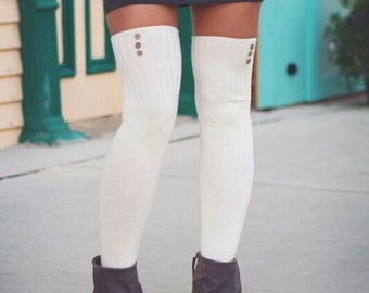 Over the Knee Socks Thigh High Skirt Socks