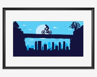 Mountain Bike, Mountain Bike art, Mountain Bike print, Mountain Bike poster, Mountain Bike, Denver, Denver print, Denver art, Denver poster