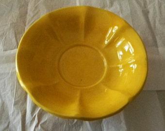 MC COY  USA Yellow Bowl