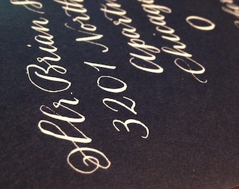 Wedding Calligraphy Addressing, Envelope Addressing - Elegant Hand Calligraphy Services for Wedding Invitations