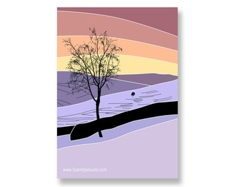 Winter Swaledale - Limited edition mounted print of a beautiful wintery Yorkshire Dales scene - By Lazenby Visuals