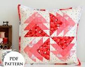 Desert Windmills Mini Quilt / Cushion PDF Pattern