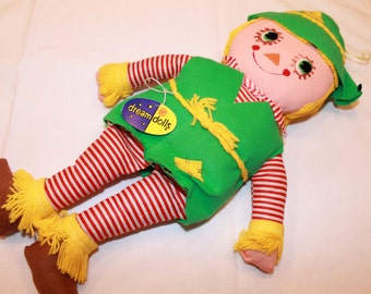 Vintage Dankin and Co. Dream Dolls Scarecrow