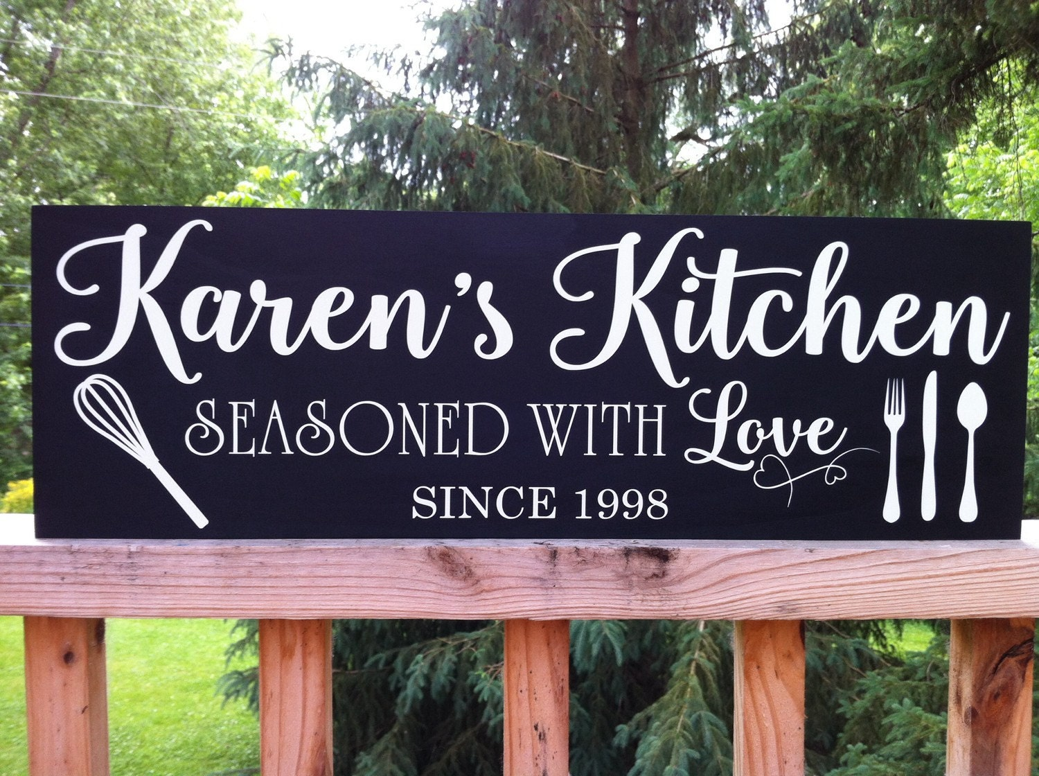 Personalized Kitchen Signs Personalized Kitchen Gifts