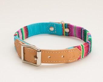 Inca Blue Dog Collar