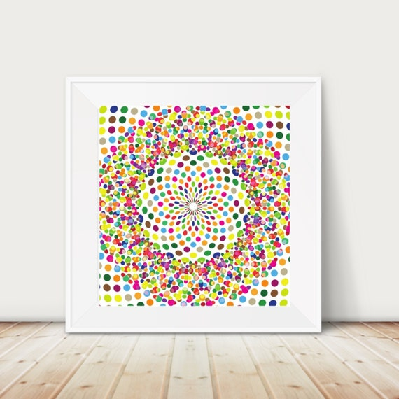 Abstract I Geometric I Colors I I Magical Thinking I Psychadelic I Gallery Wall I Printable I Printable I Decor