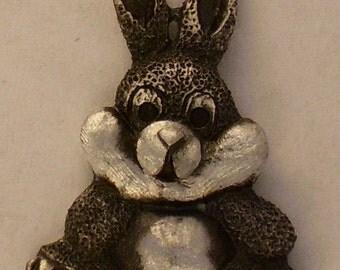 Rabbit Teddy SALE   Styff Animal pendent { 5 or more 5.00 each   read below.}