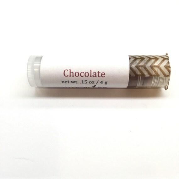 Chocolate Lip Balm Peppermint Oil Essential Oil Lip Balm All Natural Lip Balm Lip Salve