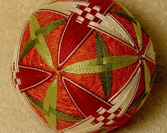 Japanese Temari Ball