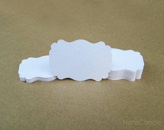 White Tag, White Gift Tag Set of 100