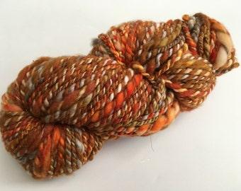 Handspun super chunky mixed yarn