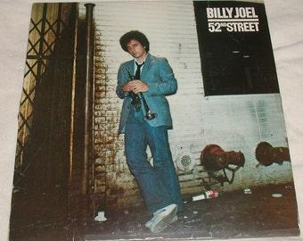 BILLY JOEL 52nd Street LP Record Album