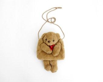 Vintage bear muff / Tedy Bear hand muff