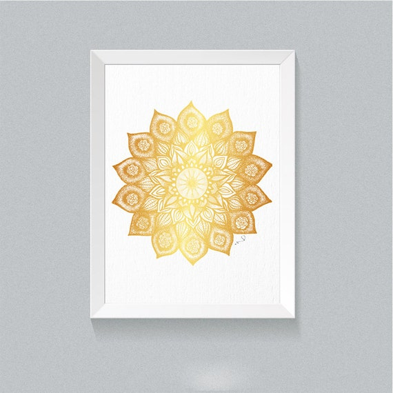 Mandala Wall Decor Mandala Wall Art Buddhist Art Mandala