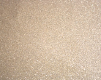 Glitter Vinyl Canvas Fabric - Gold