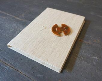 Ceramic Honey # 1-Hand-bound Journal