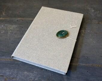 Ceramic Oxidation # 3-Hand-bound Journal