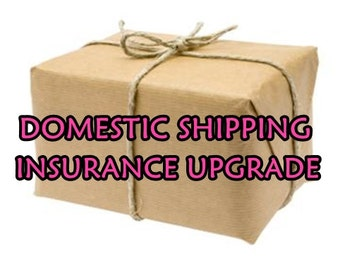 ADD SHIPPING INSURANCE for Domestic Shipping in United States