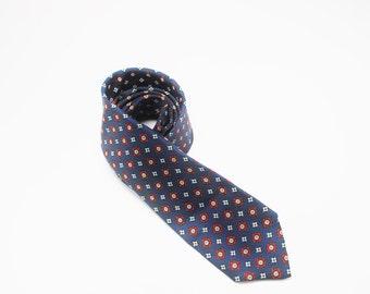 Vintage Silk Tie, Menswear by Golden Griffin Currie- 1960's