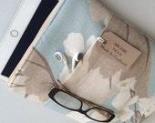 IPad Air 2 scratch cover - Laura Ashley's Millwood duck egg blue fabric