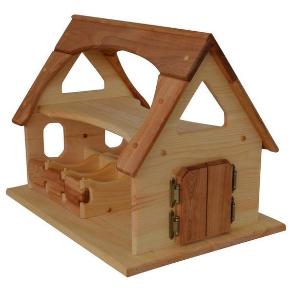 Natural Wood Barn