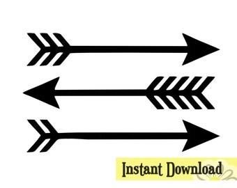 Arrow Clipart Etsy