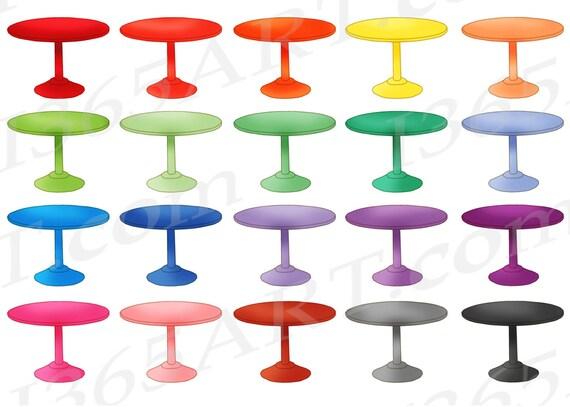 Esstisch clipart  Tisch Clipart ClipArt Esstisch runder Tisch Möbel Clipart
