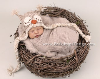 READY TO SHIP!!! Bird Nest  Newborn baby Photography Prop , Newborn , Baby infant photo prop