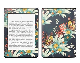 Amazon Kindle Skin - Monarch Grove by Sara Berrenson - Sticker Decal - Fits Paperwhite, Fire, Voyage, Touch, Oasis