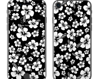 Aloha Black - iPhone 7/7 Plus Skin - Sticker Decal