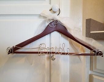 Bride Hanger/ Wire Art