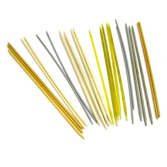 Vintage Knitting Needles : Vintage s knitting needles plastic double pointed