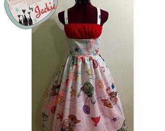 Toy Story Bedsheet Dress
