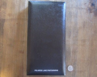 Vintage Polaroid Album Unused Land Photograph Camera NOS Black Land Camera Photo Album