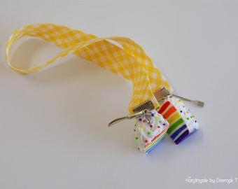Rainbow Cake Bookmark