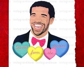 Drake Started From The Bottom Card (May not arrive in time for Valentine's Day 2/14/2016 Unless you check out with Express Shipping)