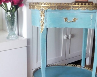 Antique side table style Empire
