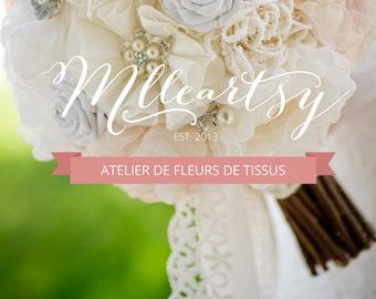 GATINEAU - Atelier de fabrication de fleurs de tissus - Inscription Avril