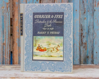 Currier and Ives Hardback Book