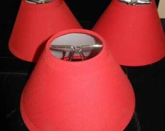 Red Clip-on Mini Shade - Only One Left