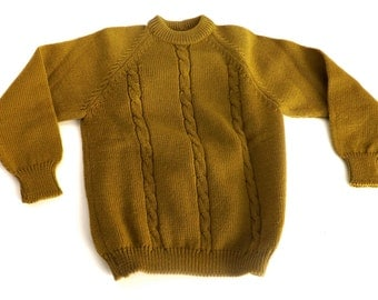 sweater wool vintage  (6 years) made in italy, 1960s