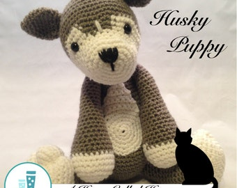 Husky Puppy - Crochet Animal (Amigurumi)