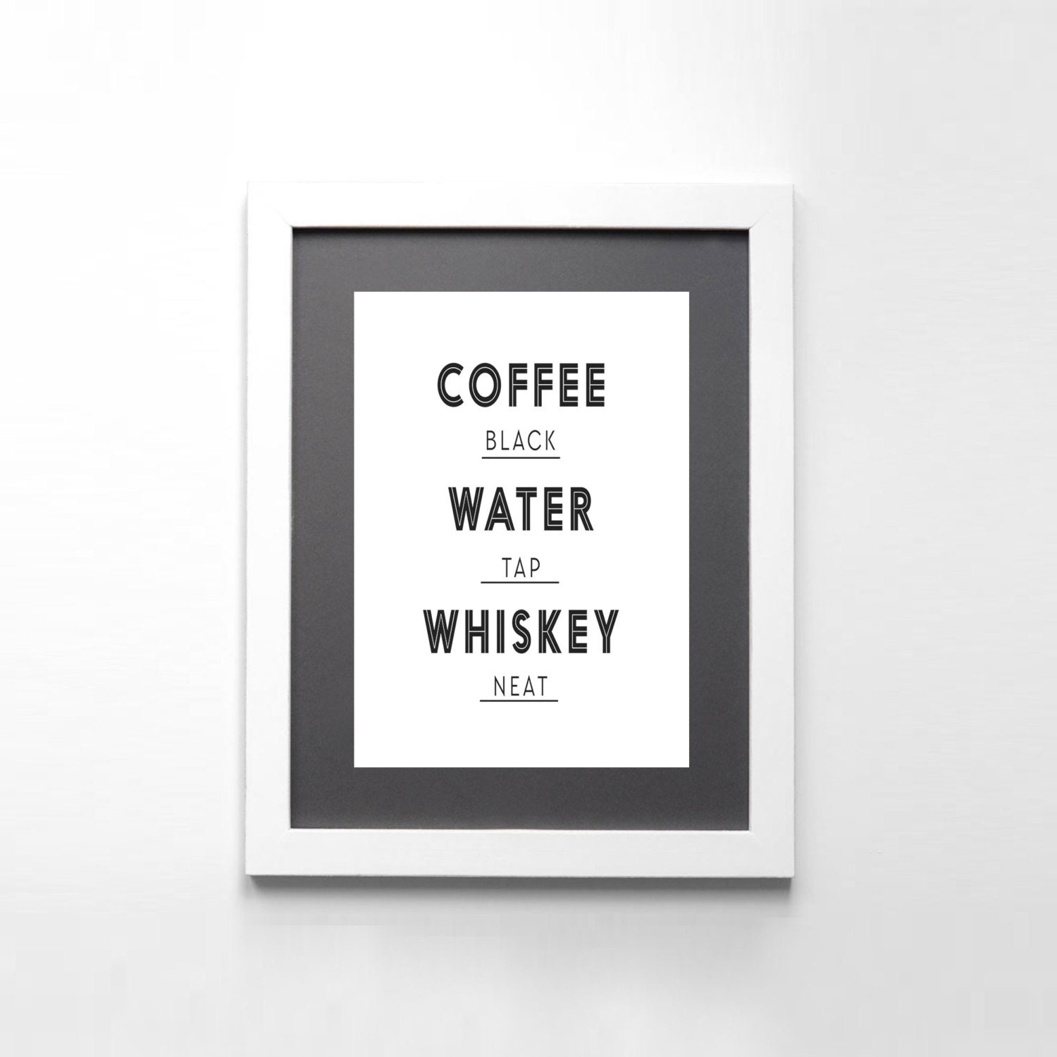 Free Printable Coffee Quotes: Coffee Quotes Funny Quote Print Typography Print