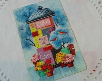 Springtime In Paris Playing Cards (3) Vintage Cards ATC