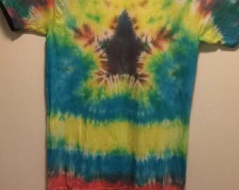 Star tie dye shirt