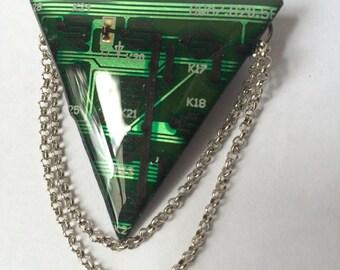 Circuit board brooch