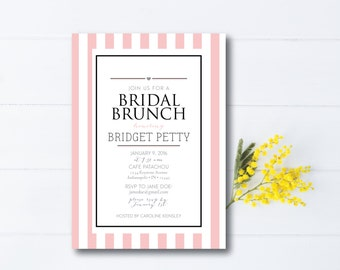 INSTANT DOWNLOAD bridal luncheon / bridesmaids luncheon / bridal tea / bridal brunch / bridesmaids brunch