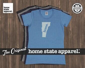 Vermont Home. T-shirt- Womens Cut