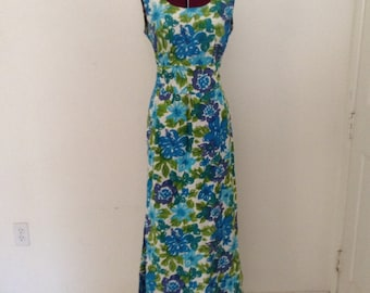 Vintage Surfriders Sportswear Wiggle Dress Rare Hawaii VLV Pinup