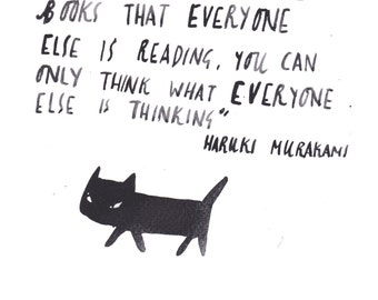 Murakami Postcard